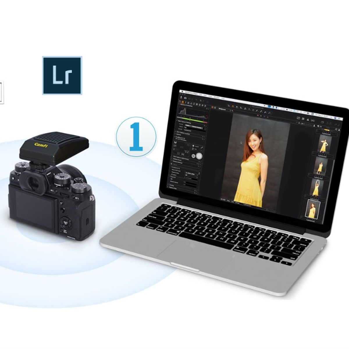 CamFi Pro Plus brings wireless tethering to 3rd party apps: Digital