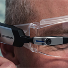 Olympus EyeTrek smart glasses pack a tiny 2.4MP camera into an AR wearable