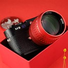 TTartisan celebrates Year of the Ox with a bright-red version of its M-mount 50mm F0.95 prime lens