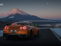 This video game offers an in-game photo studio for shooting exotic cars