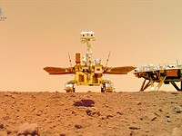 China shares video of its Zhurong Rover landing on Mars, marking country's first time on Martian surface