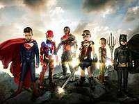 Photographer transforms disabled kids into Justice League heroes for touching photo project