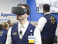 Walmart will use VR headsets to prep employees for Black Friday madness