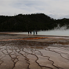 The filmmakers who took a stroll on Yellowstone's Grand Prismatic are facing jail time