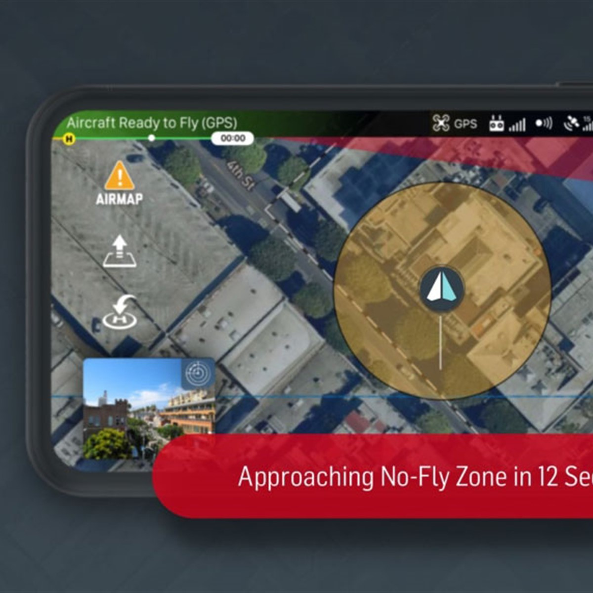 AirMap announces real-time geofencing alerts on Android, iOS