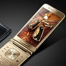 Samsung's new W2018 flip phone features a variable aperture F1.5-F2.4 lens