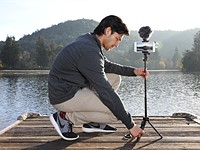 The JOBY GripTight PRO TelePod is a tripod... and a grip... and a selfie stick