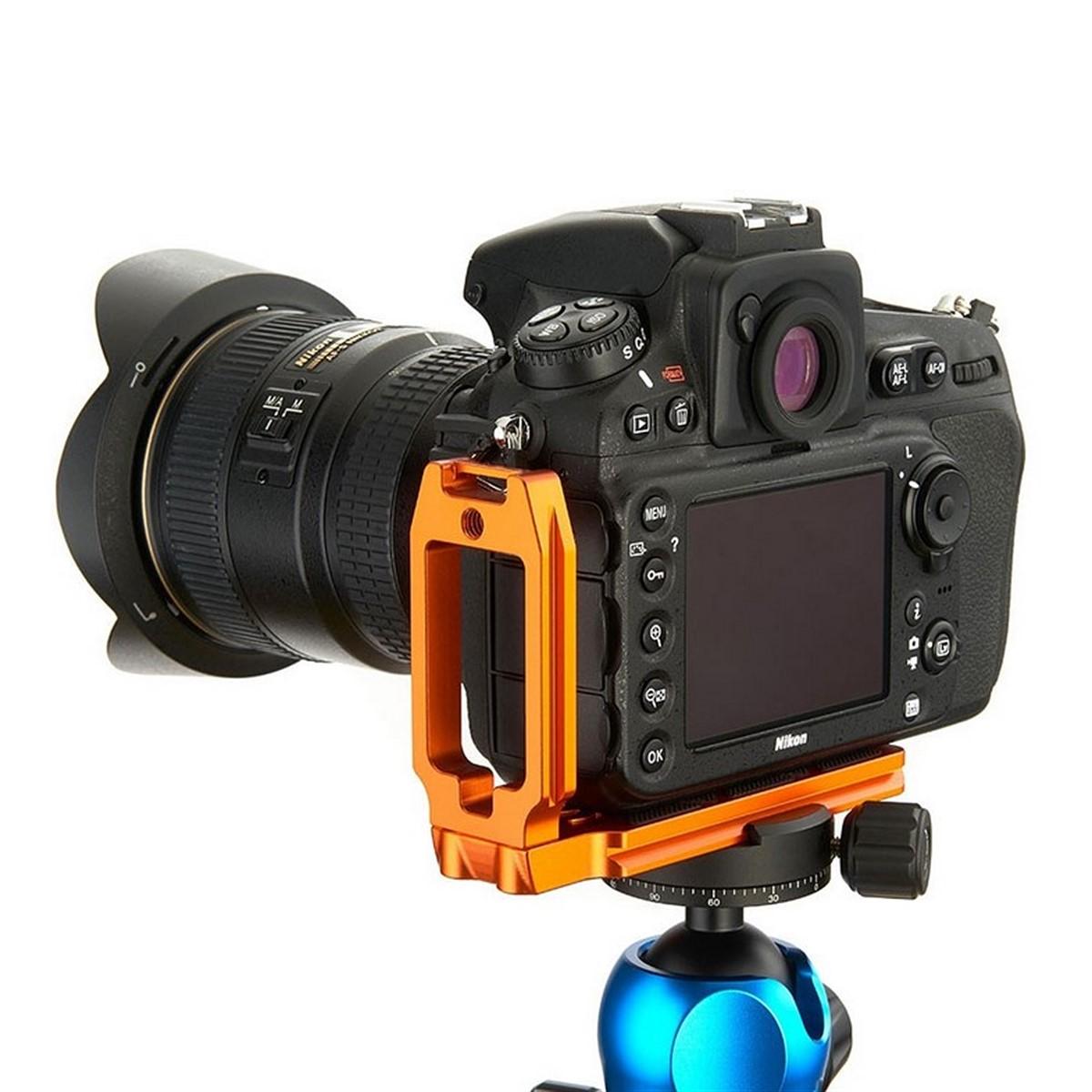 Kirk Camera Plate for Nikon D500 Camera