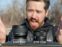 DPReview TV shootout: New Tamron 35mm F2.8 vs. Sony's 35mm F2.8 ZA for E-mount