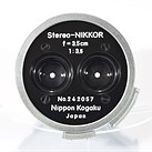 1956 Stereo-Nikkor 3.5cm F3.5 lens auction goes live on eBay