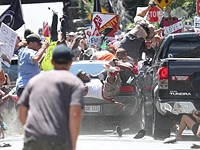 Photog behind graphic Charlottesville photo recounts near-death experience