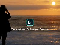 Adobe launches Lightroom Ambassador program
