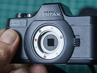 Film Friday: Reviewing the Pentax Auto 110, a 'subminiature' camera system small enough to fit in your pocket