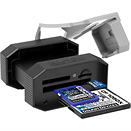 Delkin BLACK USB 3.0 Rugged Memory Card Reader offers microSD, CF and SD slots