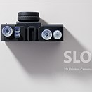 This film camera is 100% 3D-printed, including the lens