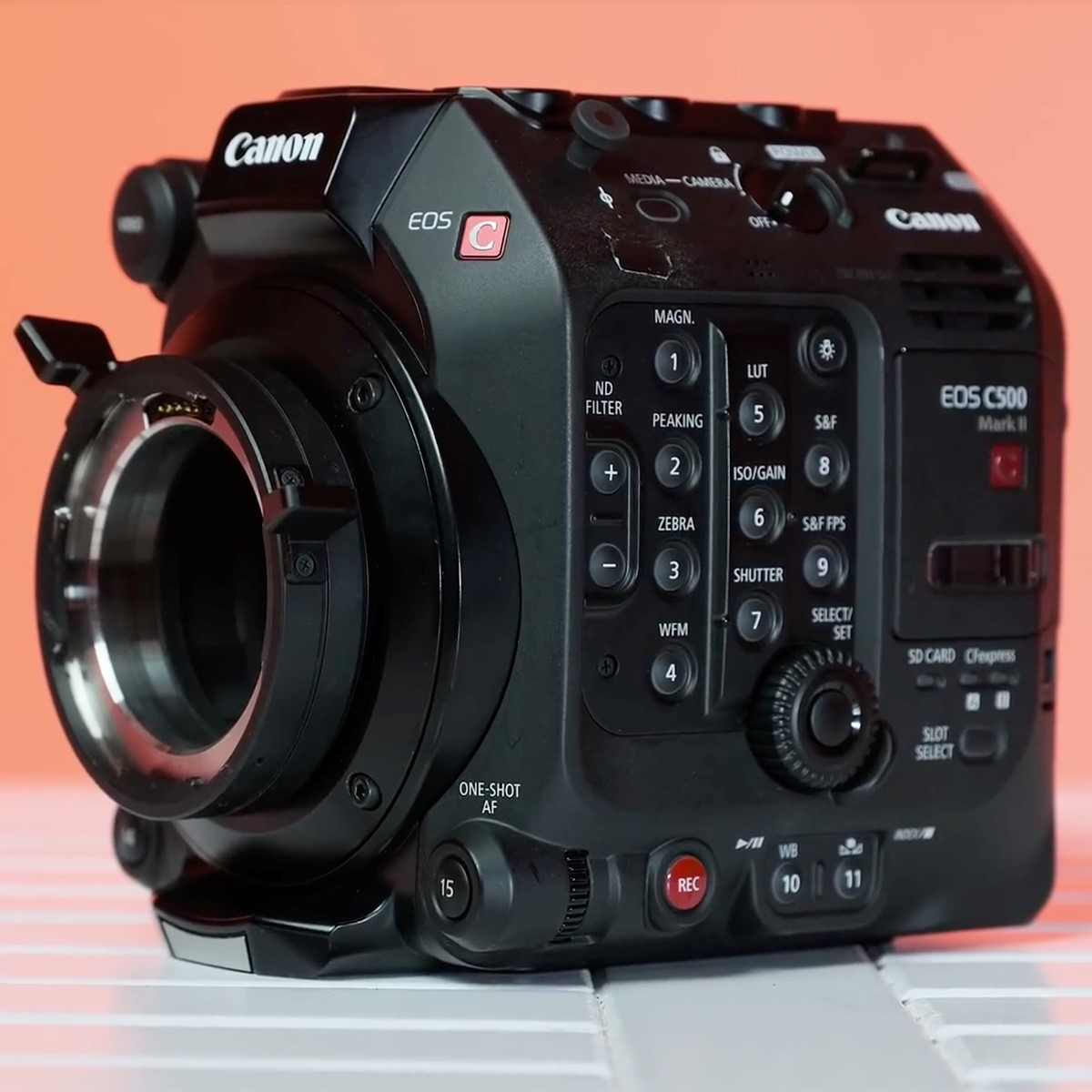 Video: Cinema5D goes hands-on with the Canon EOS C500 Mark