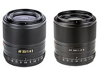 Viltrox unveils 33mm F1.4, 56mm F1.4 APS-C prime AF lenses for Sony APS-C camera systems