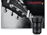 Leaked: Samyang XP 50mm F1.2 EF lens coming soon