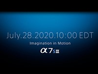 Sony confirms a7S III launch event will take place on July 28
