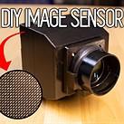 This DIY 'digiObscura' digital camera features a massive 1-kilopixel image sensor