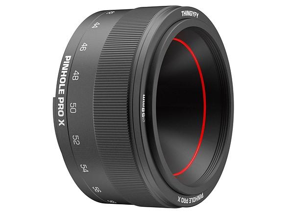 The Pinhole Pro X — a pinhole zoom lens — launches on Kickstarter
