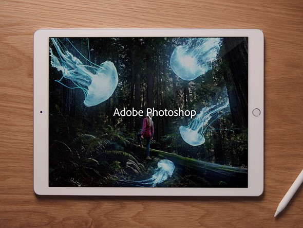 A fully-featured Photoshop is finally coming to the iPad