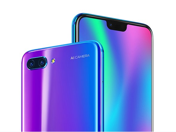 The new Honor 10 features portrait lighting and advanced scene recognition