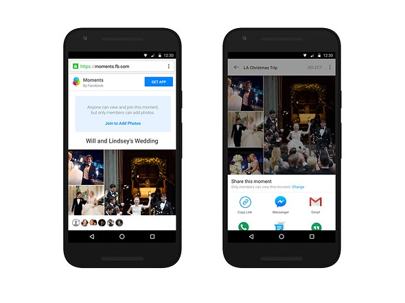 Facebook Moments app adds support for full-resolution photo storage 1