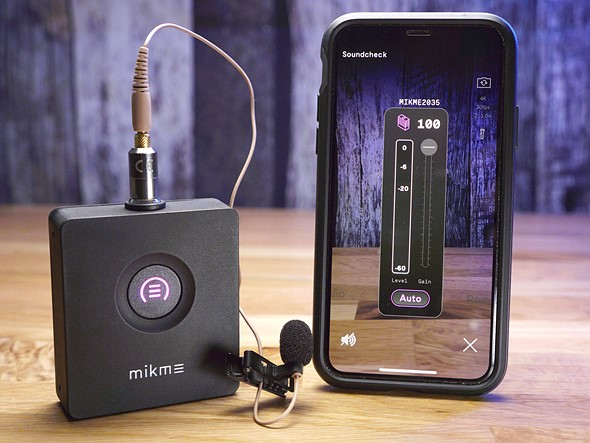 Review: Mikme pocket wireless microphone with audio sync