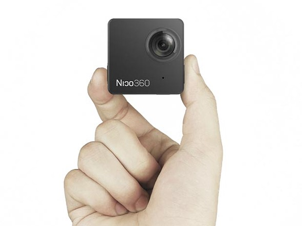 Nico360 to be 'world's smallest' 360-degree camera 1