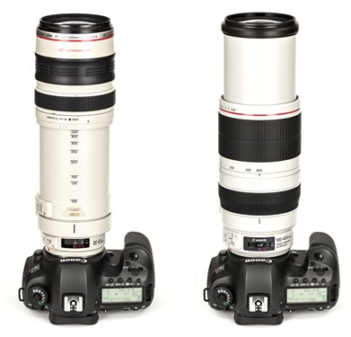 Upgrading A Classic Canon 100 400mm F4 5 5 6l Is Usm Mark Ii Review Digital Photography Review
