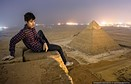 Photographer captures pictures from top of Egypt's Great Pyramid of Giza