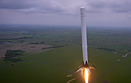 Drone films SpaceX rocket launch and landing
