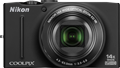Nikon releases CoolPix S1200pj, S8200, S6200 and S100 compacts
