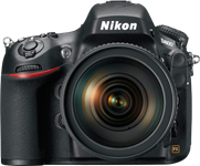 Nikon D800 and D800E 36MP full-frame DSLRs announced
