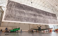 Massive 3,000 square foot pinhole photo on display