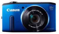 Canon unveils SX270 HS 20x superzoom and SX280 HS with GPS and WiFi