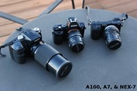 Old SLR lenses: full-frame, focal reducer, or APS-C?