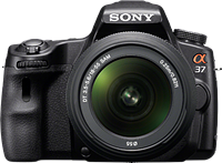 Sony launches SLT-A37 16MP fixed-mirror DSLR and 18-135mm F3.5-5.6 SAM lens