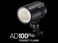 Godox announces the AD100Pro flash, its most compact strobe yet