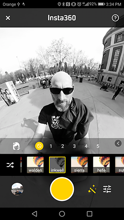 Insta360 Air 360-degree camera for Android quick review 4