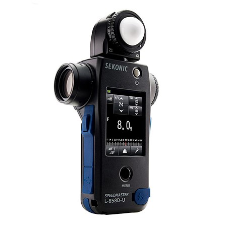 Sekonic announces price and availability of 'groundbreaking' L-858D-U light meter