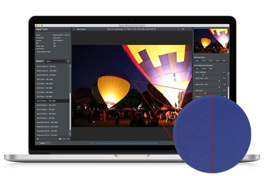Topaz Labs DeNoise 6 adds standalone option, batch