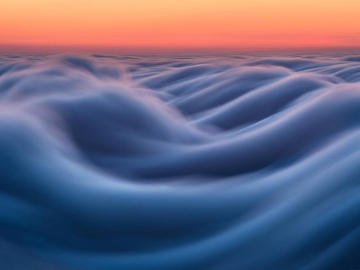 Fog waves: photographer Nick Steinberg captures nature in motion 10