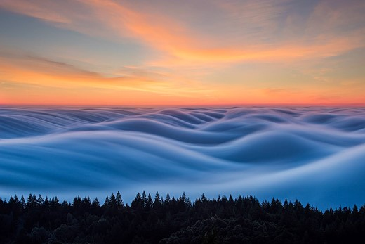Fog waves: photographer Nick Steinberg captures nature in motion 2