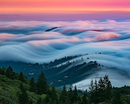 Fog waves: photographer Nick Steinberg captures nature in motion 6