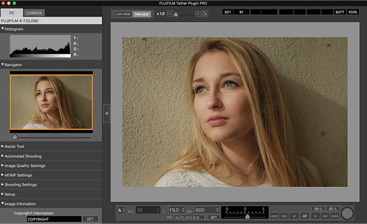 Fujifilm launches 'Pro' tethered shooting plug-in for Lightroom with live view and remote control 1