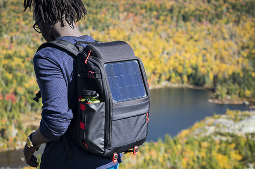 Voltaic Array and Offgrid solar backpacks charge gear on the go 1