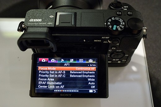 Hands-on and in-depth with the Sony a6500 6