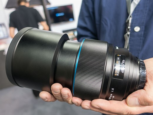 Photokina 2016: Hands-on with Phase One 45mm F3.5 and 150mm F2.8 'Blue Ring' lenses 1